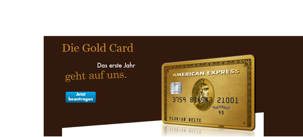American Express: Gold Card