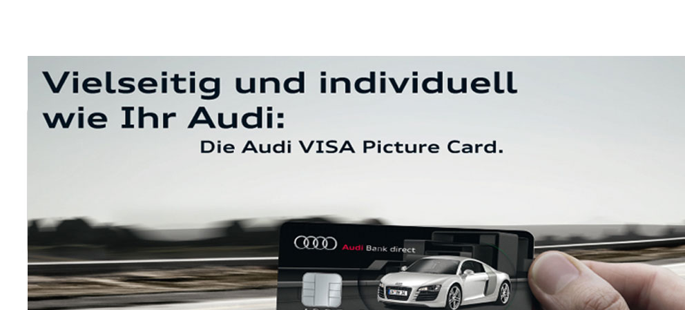 Audi Bank direct: Audi VISA Card