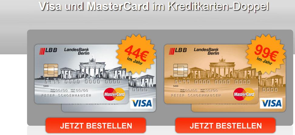 landesbank berlin lbb goldkarten doppel. Black Bedroom Furniture Sets. Home Design Ideas